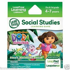 LeapFrog LeapPad / Leapster Explorer Game Dora the Explorer