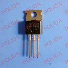 10PCS MOSFET Transistor IR/IRF TO-220 IRF640N IRF640NPBF