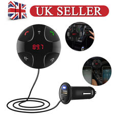 4.2 Bluetooth Wireless Handsfree Car FM Transmitter MP3 Player&USB Charger Kit