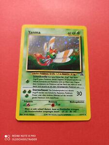 Pokemon Yanma Holo Neo Entdeckung 17/75 MINT NM TCG DE PSA RDY Vintage PP&FAST