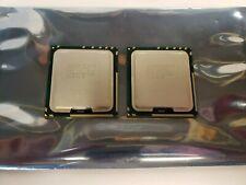 Intel Xeon E5620 2.40GHz Quad-Core SLBV4 Socket LGA Processor Lot of 2 Match Set