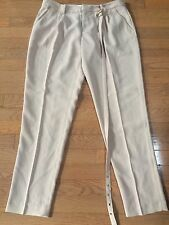 NWT JOIE Women's Dusty Pink Sand Pleated Dress Pant Size 6