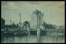AK ROTTERDAM HET WITTE HUIS alte Ansichtskarte nach WIEN 1899 old postcard bg03