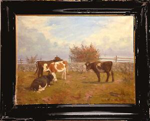 A. Kofoed Hansen  (Mark Osman Curtis) 1879-1959: COWS