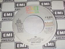 """7"""" - David Lasley / Oh & Oh - US PROMO MINT # 0605"""