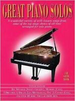 Great Piano Solos - The Show Book, New, Wise Publications Book