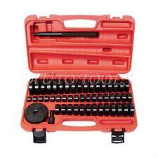 51pcs Custom Bushing Bearing Seal Driver Push Press Disc Tool Set 18-65mm