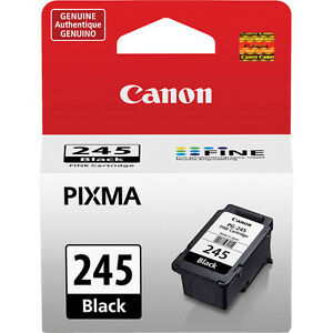 Genuine Canon PG245 black ink cartridge for PG 245 PIXMA TR4527 TR4550