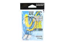 Decoy VJ-36 Jig Head Decibo Worm Hook Jig Head Size 4/0 , 1/2 oz (5334)