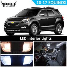 White LED Interior Light Replacement Kit for 2010-2017 Chevrolet Equinox