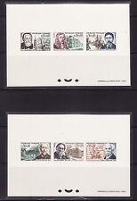 épreuve de luxe  collective  série personnages  de 1966   num: 1470/75