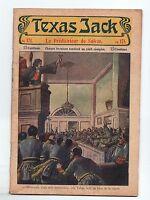 TEXAS JACK n°171. La Nouvelle Populaire 1907-1912. La Terreur des indiens.