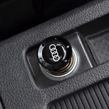Black Aluminum Car Cigarette Lighter For AUDI A1 A3 A4 A5 A6 A7 A8 Q3 Q5 Q7 R8