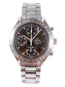 OMEGA Speedmaster Racing Michael Schumacher Automatic Date Watch 3519.50 w/Box