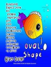 Kleurboek Engels Leren Vis Vormen Onderdelen Pret Voor Kinderen Volwassenen...