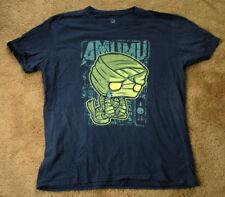 AMUMU League of Legends short sleeve blue t shirt size L