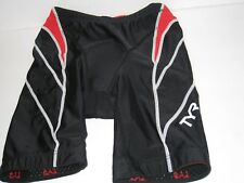 Tyr Female 8 in Triathlon Short With Amp Pad Made in Usa Size Xs