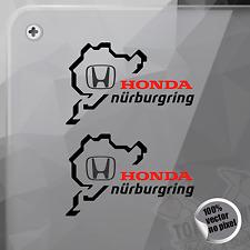 STICKER NÜRBURGRING HONDA MOTORS VINYL DECAL VINYL STICKER AUTOCOLLANT