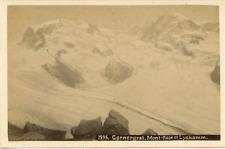 Suisse, Gornergrat, Mont-Rose et Lyskamm  Vintage albumen print Tirage album