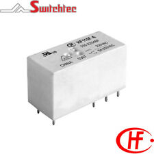 Hongfa HF115F Series 2 Pole 8A Change Over relay PCB Mount 24VAC Coil