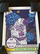 Foo fighters Chicago Poster 2015