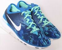 Nike 704695-403 Free 5.0 TR Fit Lace-Up Crossfit Training Shoes Women's US 6.5
