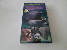 Our Friends at the Zoo (VHS, 1995) - WORLD'S CUTEST ANIMALS - NEW