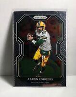 Aaron Rodgers 2020 Panini Prizm #206 Green Bay Packers Football