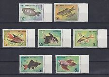TIMBRE STAMP 7 VIET NAM  Y&T#506-12 POISSON FISH NEUF**/MNH-MINT 1984 ~A49