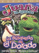 Juana La Iguana - La Busqueda de El Dorado (DVD, 2003) New