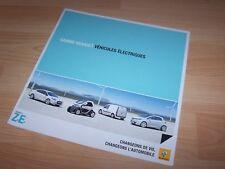 Dépliant pub / Brochure RENAULT Gamme électriques 2011 //