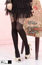 Sexy Woman Lady Tights Fake lace Straps Thin Hosiery Pantyhose Legging
