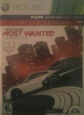 Limited Edition Need for speed most wanted xbox 360