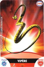 Carte CORA Dreamworks n° 16/112 - VIPERE
