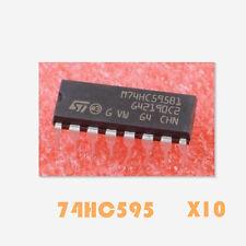 10Stk. Neu Original 74HC595 DIP-16  8-Bit Shift Register Schieberegister
