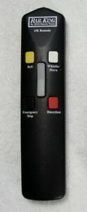 ✅MTH RAILKING IR REMOTE CONTROL 50-1011 INFRARED FOR REAL TRAX TRACK TRAIN SET