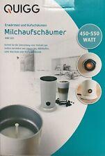 QUIGG MMF 300 vollautomatischer Milchaufschäumer Milch Aufschäumer 450-550 Watt