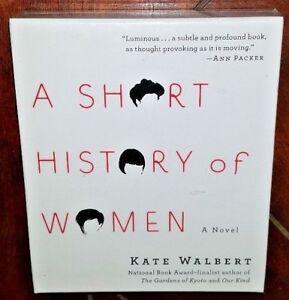 A Short History of Women by Kate Walbert (2010, CD, Unabridged) Free Shipping!