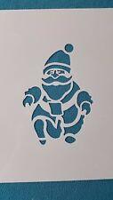 Schablonen 915 Weihnachtsmann Vintage-Stanzschablone Flex-Schablone Shabby Mylar