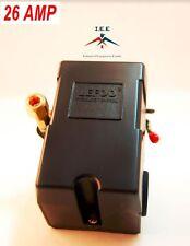 PRESSURE SWITCH CONTROL AIR COMPRESSOR 90-125 1 PORT HEAVY DUTY 26 AMP