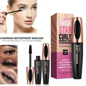4D Silk Mascara Eyelash Waterproof Extension Volume Long Lasting Lashes #