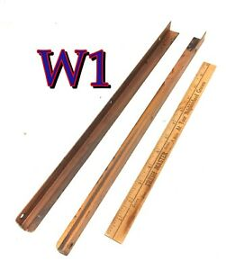 Pair Original Antique Globe Wernicke File Cabinet DRAWER GUIDES Runners/Tracks
