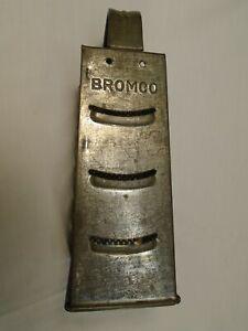VINTAGE BROMCO LARGE TIN BOX GRATER SHREDDER