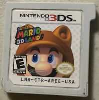 Super Mario 3D Land (Nintendo 3DS, 2011) Tested Game Only
