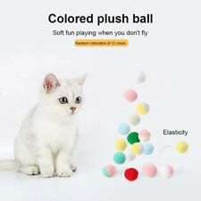Cat Push Ball Teaser Training Funny Toy For Pets Interactive Color Balls