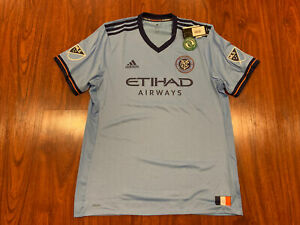 2017-18 Adidas Men's New York City FC NYCFC Soccer Jersey XL Authentic Player