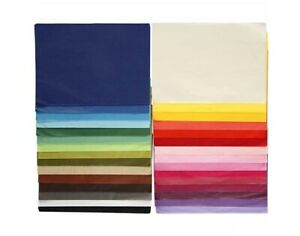 300 Assorted Colour A4 Tissue Paper Sheets for Crafts | Gift Wrap Supplies