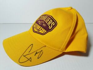Cleveland Cavaliers Adjustable Strapback Hat Autographed CJ Miles Basketball Cap