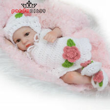 Handmade Real Looking Newborn Baby Vinyl Silicone Realistic Reborn Dolls gril