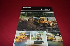 Michigan L30 Wheel Loader Dealer's Brochure DCPA4